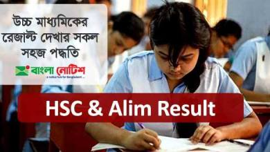 HSC & Alim 2020 Results with Marksheet & Obtain Marks