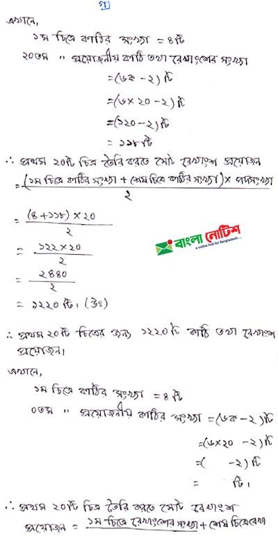 Class 8 Assignment 3rd Week Math Solution
