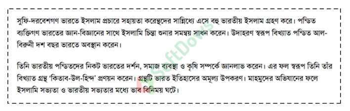HSC Islamic History and Culture Assignment Answer 2021 2nd Week
