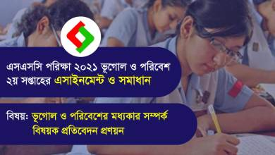 SSC Geography Assignment 2021 Answer 2nd Week