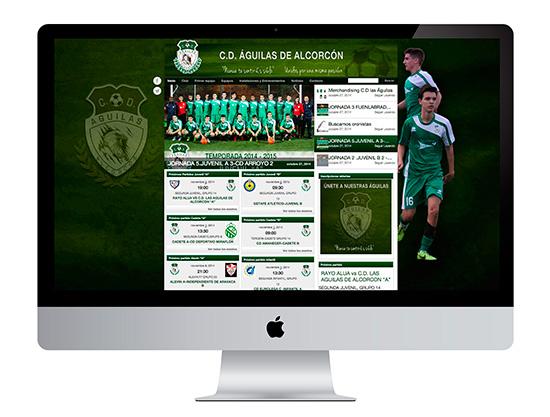 En CD Águilas de Alcorcón lo damos todo llevando la imagen y comunicación del club