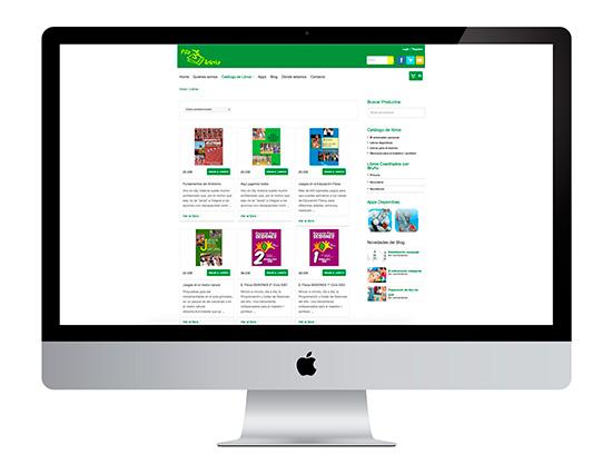 Nuestro propósito ecommerce con Editorial Pila Teleña se convierte en realidad