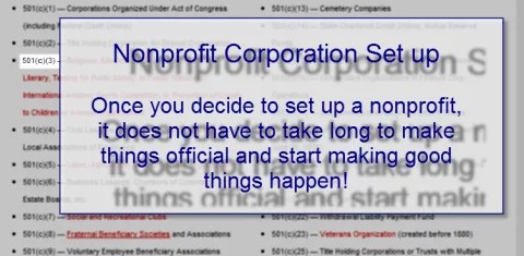 how to set up a nonprofit charity