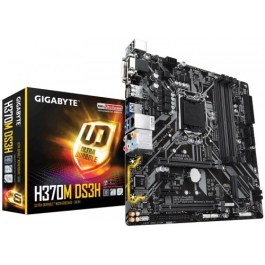 Gigabyte H370M DS3H DDR4 Intel 8th Gen, Dual M.2, Micro ATX Motherboard