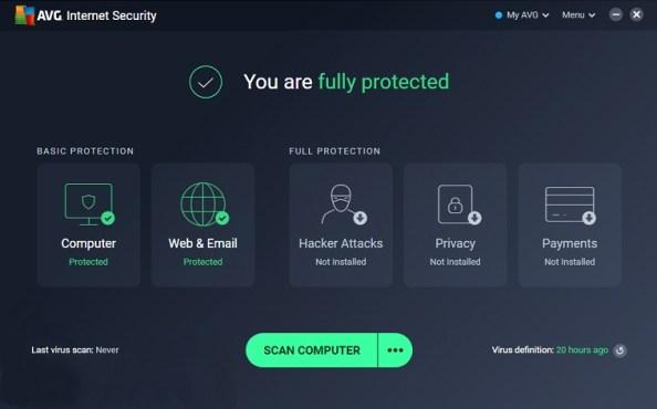 AVG Internet Security Free License Key 2020