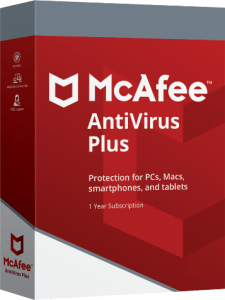 Mcafee Antivirus Plus Activation Key