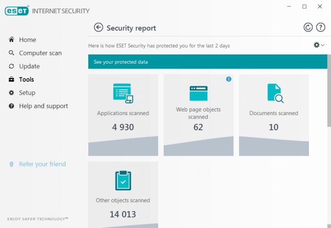 Eset Internet Security 2020 Free Trial for 90 Days