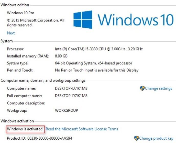 Get Windows 10 Product keys 32-64 Bit Free Download {2018}