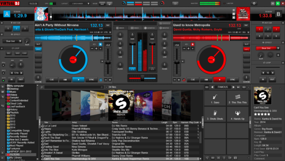 Virtual DJ Pro 2018 Crack File + Torrent + Serial Keys Download