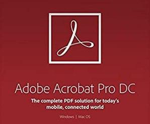 Adobe Acrobat Pro DC 2020.009.20074 Crack Activation Key Free Download