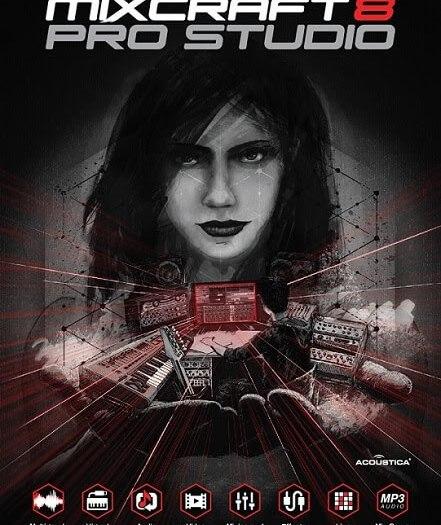 Mixcraft [8.1] Pro Studio Crack With Activation Key Free Download