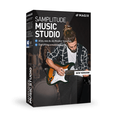 MAGIX Samplitude Music Studio 2021 [26.0.0.12] + Crack Download