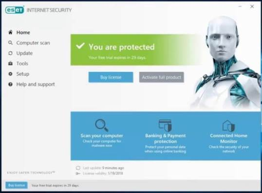 ESET Internet Security [13.2.18.0] Crack License Key Latest Download
