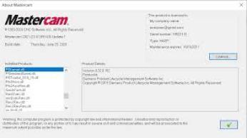 Mastercam 2021 [23.0.18934.0] Full Crack Latest 2020 Download