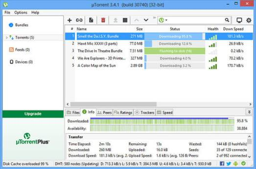 uTorrent Pro [3.5.5 Build 45798] Crack Free Download