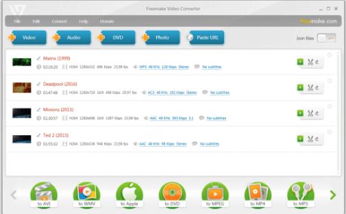 Freemake Video Converter 4.1.12.40 Crack License Key Download 1