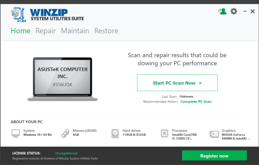 WinZip System Utilities Suite 3.10.0.22 With Crack Latest Download