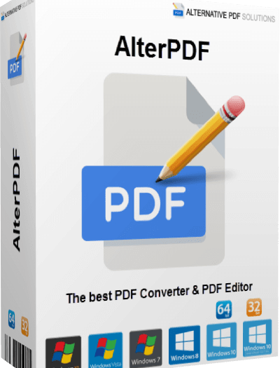 AlterPDF Pro 4.9 With Crack 2021 Full Version Free Download
