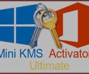Mini KMS Activator Ultimate 2.2 Crack Free Download 2021
