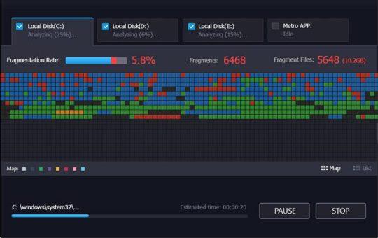 IObit Smart Defrag Pro 6.7.5.30 Crack Download Latest 2021