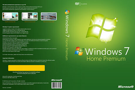 Windows 7 Home Premium Full Version Free Download ISO [32-64Bit