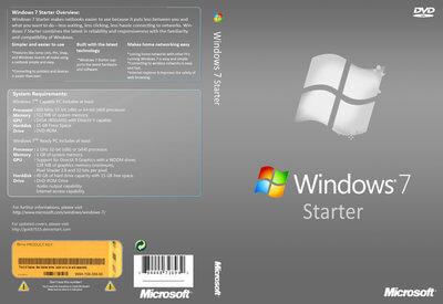 Windows 7 Starter Full Version Free Download ISO 32Bit