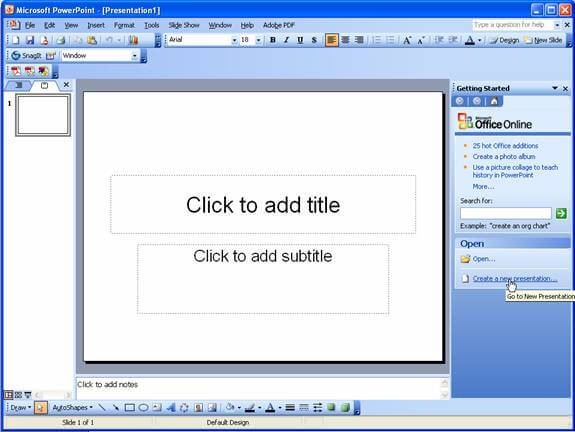 microsoft powerpoint 2003 free download full version