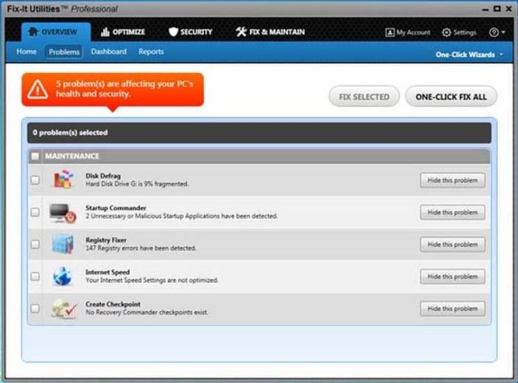 Avanquest Fix-It Utilities Pro 15 Free Download
