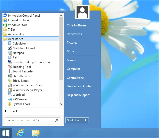 download start menu 8 free version
