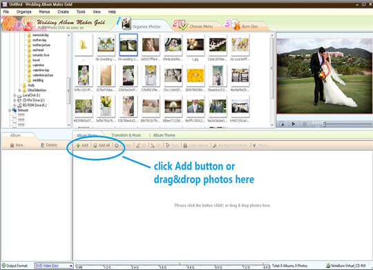 Wedding Album Maker Gold Free Download - Softlay