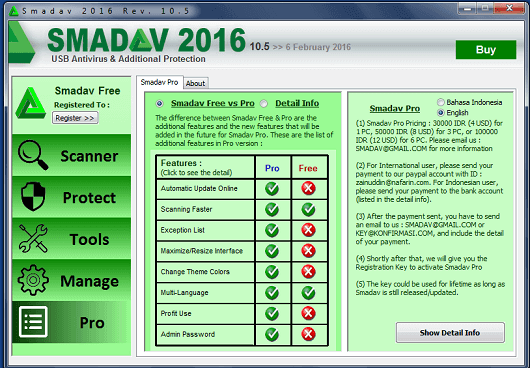 Download Smadav Pro 2016 Features