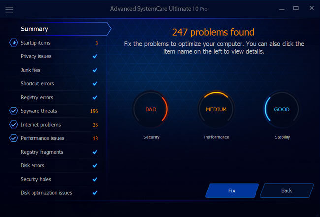 advanced systemcare ultimate latest version free download