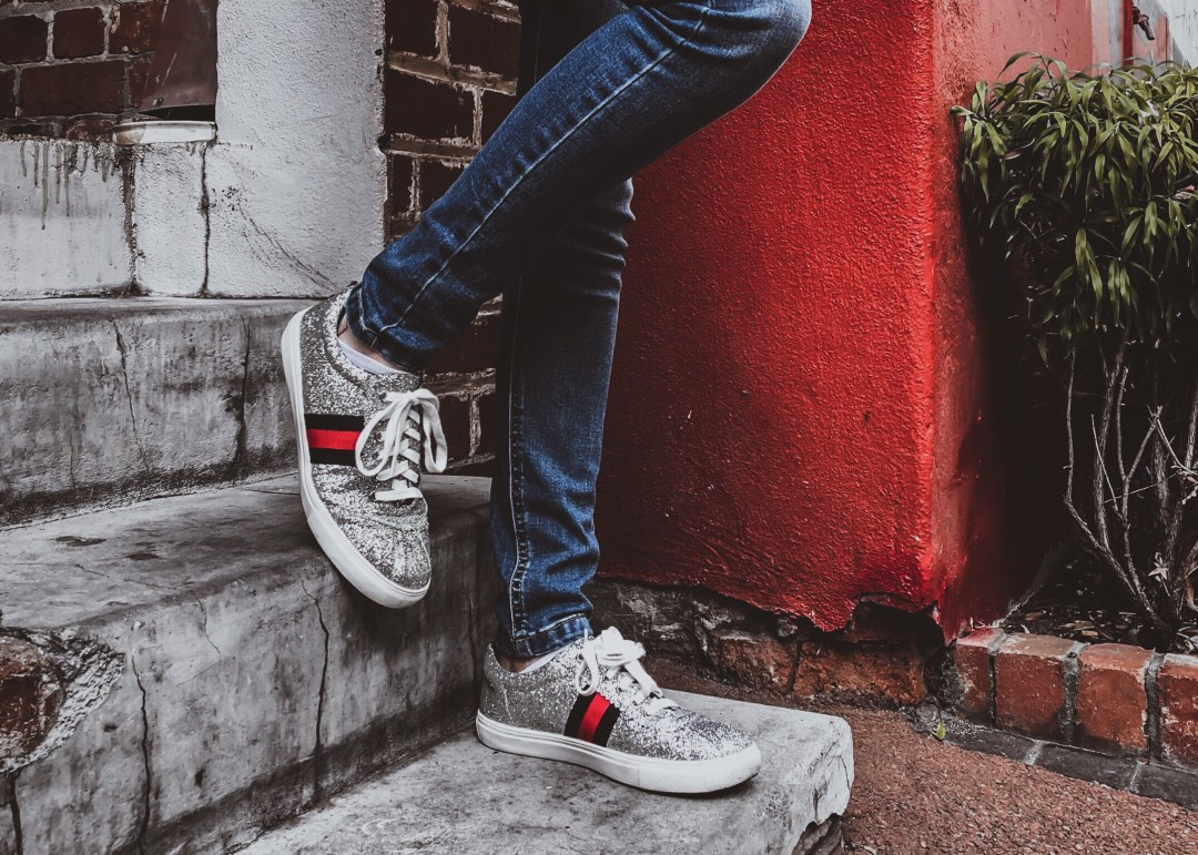 1447906a49451 Gucci Ace Sneakers Dupes Street Style Outfit - Soft October Night - A Style  and Creativity