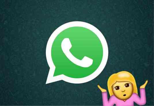 WhatsApp limits the emojis that we can put in our name