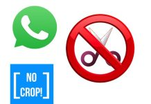 Hoq to set whatsapp dp without crop
