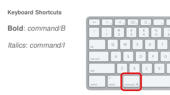 Useful Commands and Keyboard Shortcuts in mac