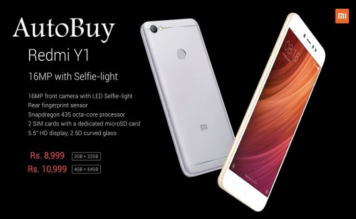 Redmi Y1 Autobuy Script from Amazon Flash Sale