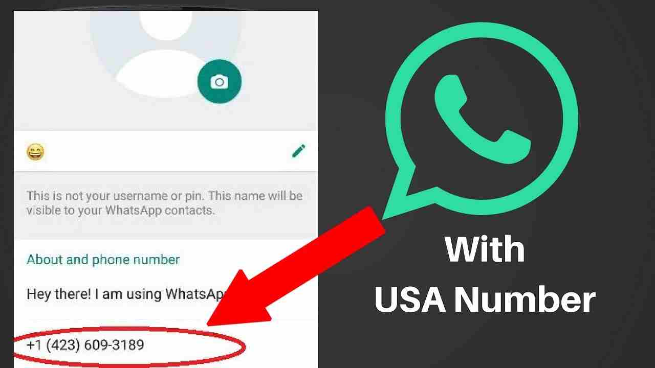 How to create a WhatsApp account with fake USA number(2018
