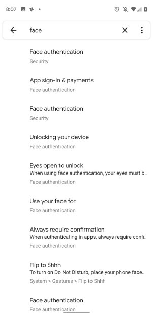 android-Q-face-unlock-for-a