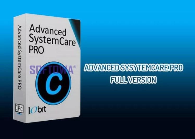Advanced SystemCare Pro Full Version Free