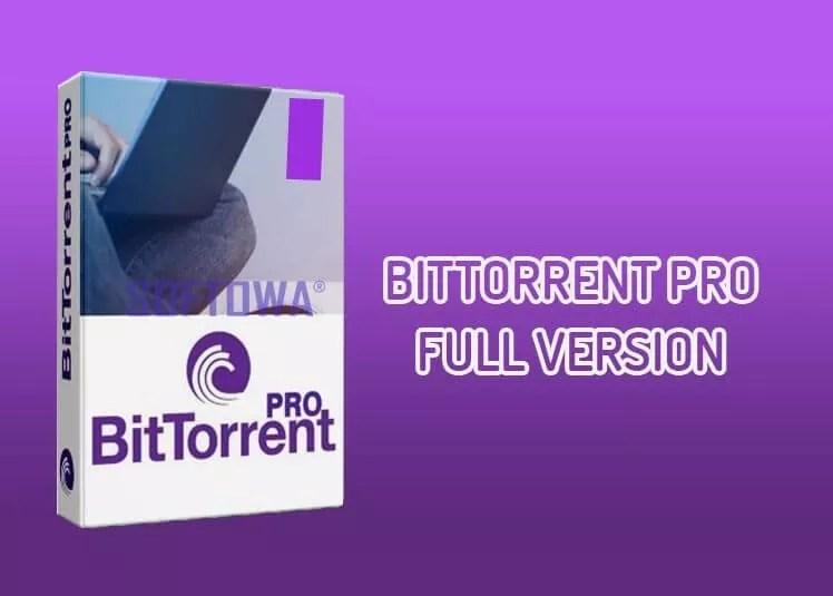 BitTorrent Pro full version for Windows