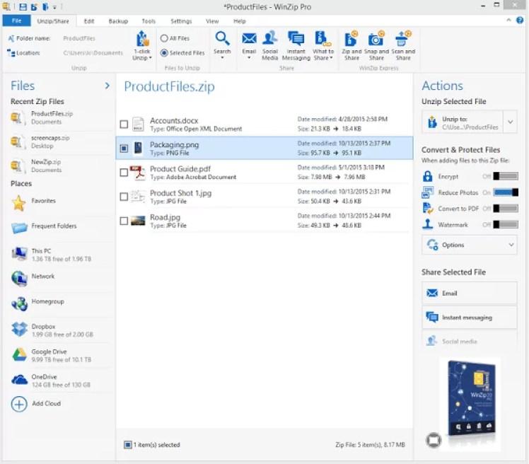 WinZip Pro Full Version for Windows