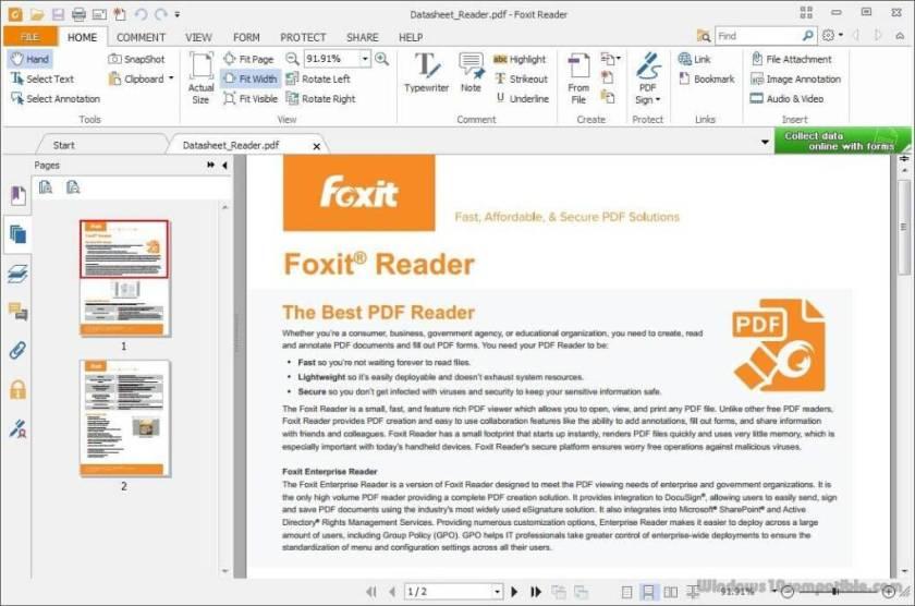 Foxit PDF Reader Portable