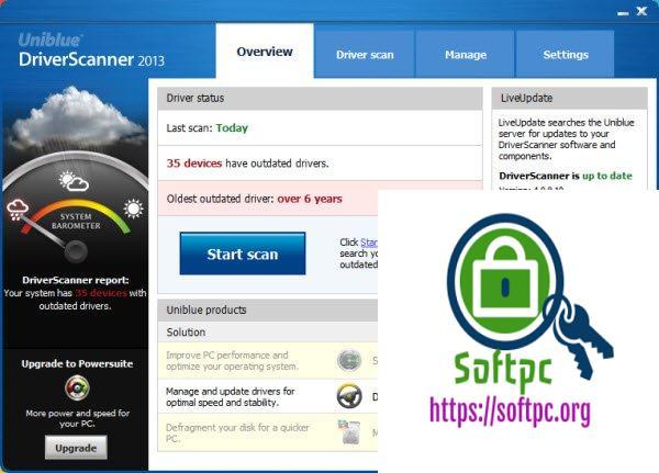 Uniblue DriverScanner 2015 License and Serial Key Download