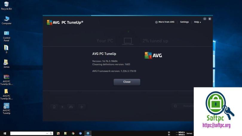 AVG PC TuneUp 19.1 Build 831 License + Crack Key Full Version 2019