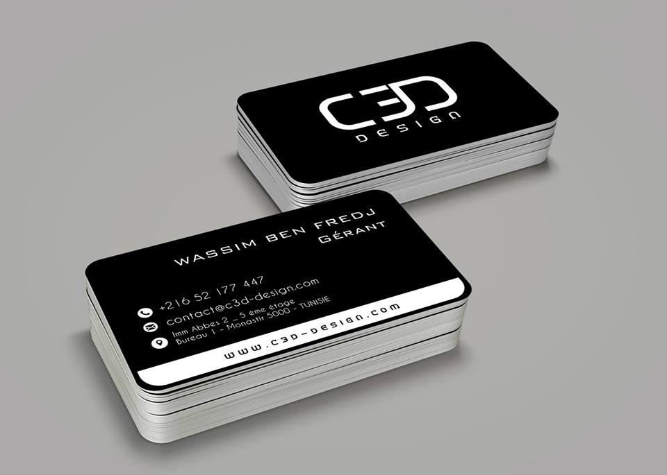 Carte De Visite C3D