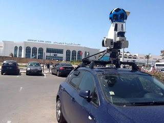 google street view tunisie