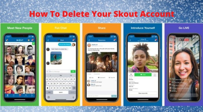 How to Delete Skout Account