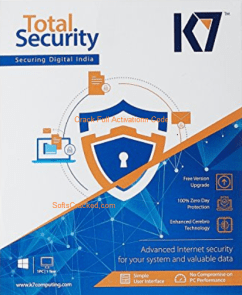 K7 Total Security 2019 activation code