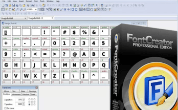 FontCreator Crack Full keygen